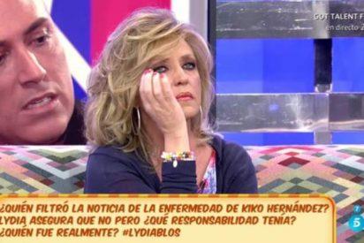 Sálvame: Kiko Hernández deja hundida a Lydia tras sus duras palabras en el 'Deluxe'