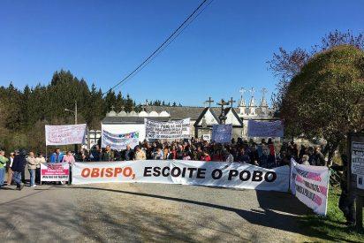 Los vecinos de Friol y Guitiriz elevan sus protestas a la CEE
