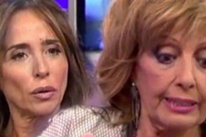 María Patiño evoca con 'amargura' la etapa en que María Teresa Campos era su 'enemiga'
