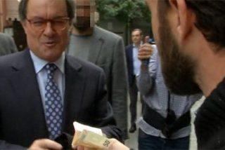 La desopilante ocurrencia de Gonzo para llamar corrupta a CiU en la mismísima cara de Artur Mas