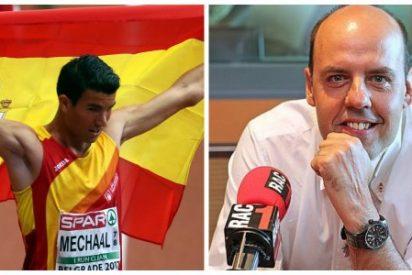 Premio Rey de España a un separatista de RAC 1 que atacó a Merchaal por estar orgulloso de ser español