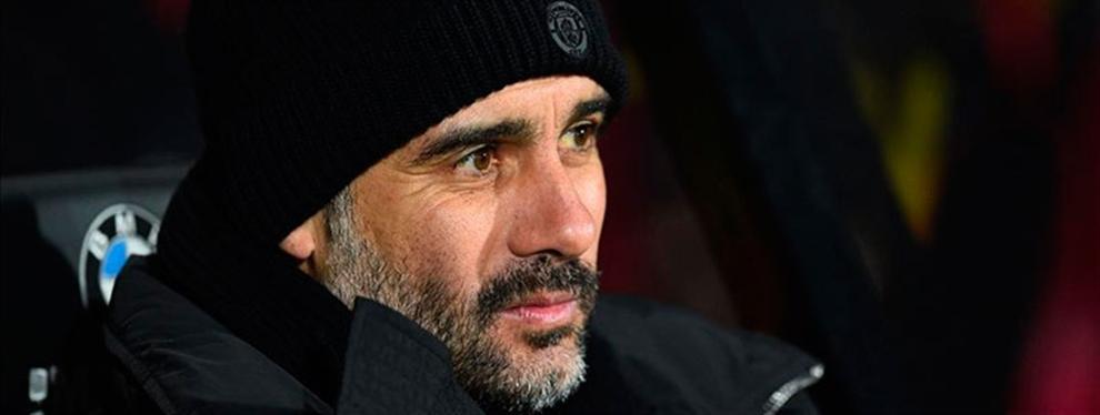 ¡Menudo favor'! ¡Guardiola puede quitarle de encima un 'marrón' al Real Madrid!