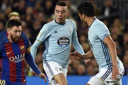 Messi mantiene al Barcelona líder de la Liga española