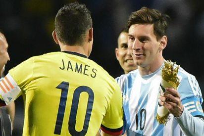 Messi revoluciona al Real Madrid con una recomendación a James Rodríguez