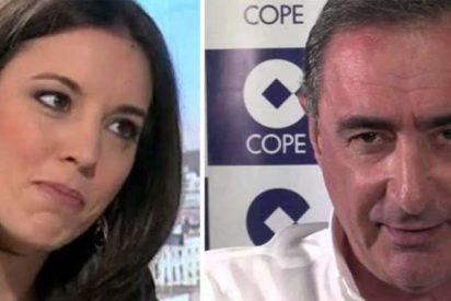 Carlos Herrera da una tunda a la 'iraní' Irene Montero destapando las mentiras de Podemos con la misa