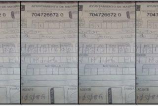 Agente 10508.9, alcaldesa Carmena, abuso e idiotez: 30 euros de multa en MADRID por un agente aburrido, fatuo e ineficaz