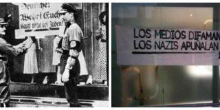 Los batasunos de Podemos imitan a los nazis en su estrategia del miedo contra la prensa