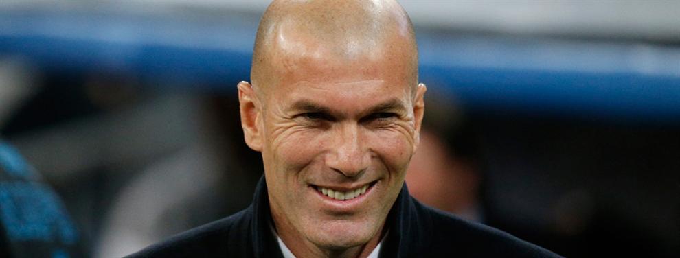 ¡Ojo! Zidane pasa una lista de fichajes a Florentino Pérez (el francés tiene 'enchufe')