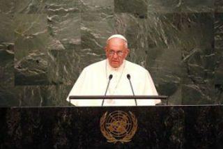 """El Papa pide a la ONU """"trabajar con determinación"""" para conseguir """"un mundo sin armas nucleares"""""""