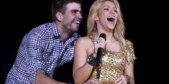 La ardiente Shakira anima a Piqué a caderazos la derrota del Barça contra el Deportivo