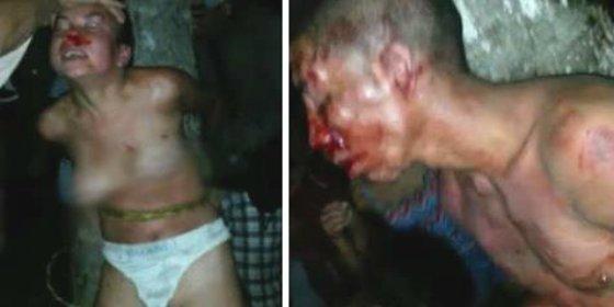 Con esta saña desnudan y descalabran a la pobre 'pantera negra' los fieros venezolanos