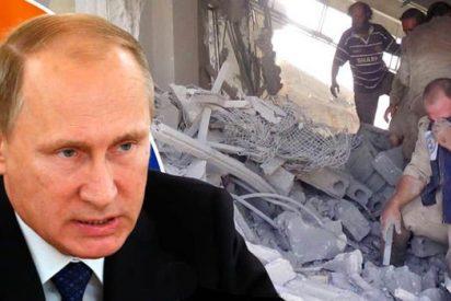 ¡Pifia! Aviones rusos bombardean posiciones de las fuerzas de la coalición en Siria
