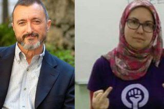 "Pérez-Reverte 'entierra' a la grosera feminista que luce orgullosa su hiyab: ""Menuda empanada mental tienes"""