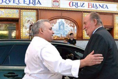 El rey Juan Carlos disfruta con amigos de un cocido en Vallecas, ajeno a todas las habladurías y malas lenguas
