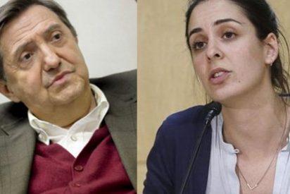 Rita Maestre ataca a Jiménez Losantos cuando el PP le pide a Ahora Madrid que se solidarice con los periodistas acosados por Podemos