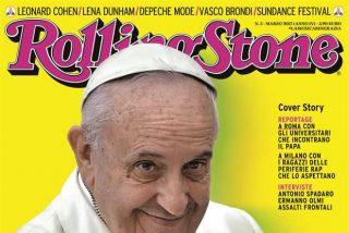 """Bergoglio, portada de la """"Rolling Stone"""" en Italia"""
