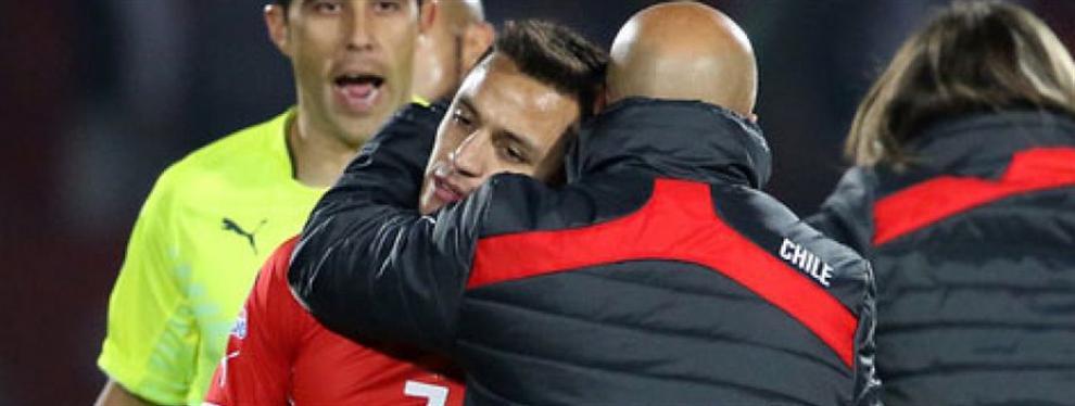 ¡Sampaoli le lanza un 'órdago' a Alexis Sánchez! (vaya 'zasca' para el Barça)