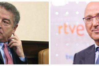 El caos de Gundín y Sánchez en TVE permite a la oposición hacer trizas al PP