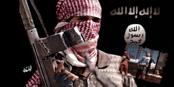 """La furiosa decapitación del agonizante yihadista al grito de """"¡Alá es grande!"""""""