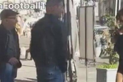 """""""Si gritas Forza Real Madrid te muestro los pechos"""""""