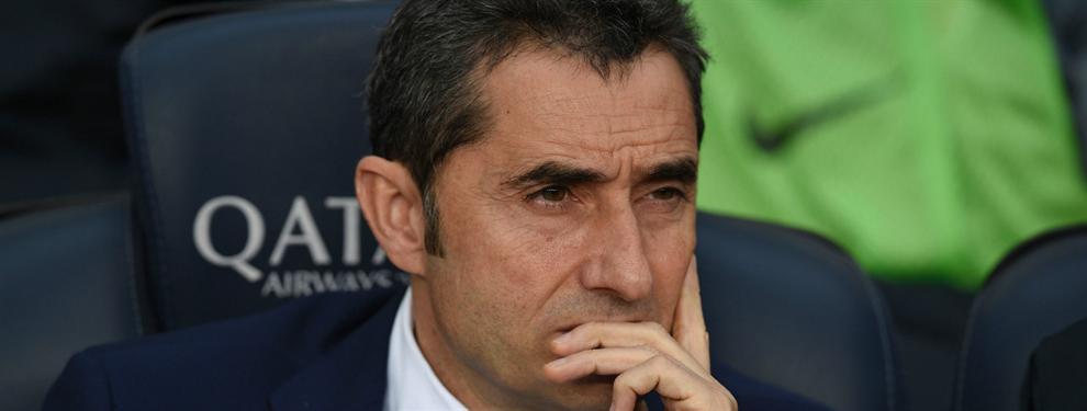 ¡Sorpresón! El jugador que quiere Ernesto Valverde si ficha por el Barça