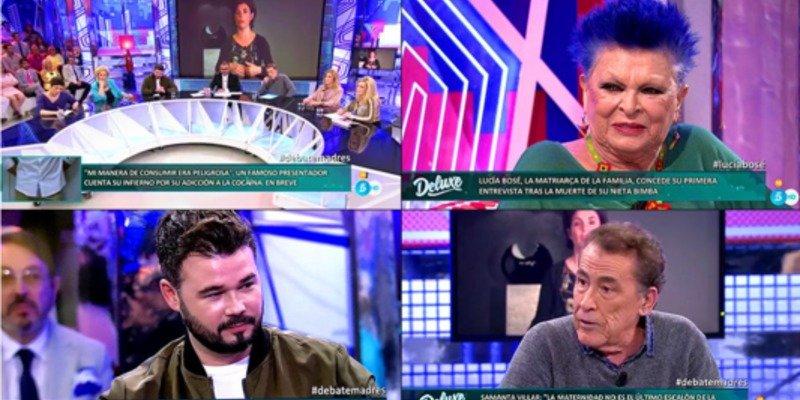 La metamorfosis del 'Deluxe' en 'Noria' salva el culo a Jorge Javier y levanta el sábado de Telecinco (15.5%)