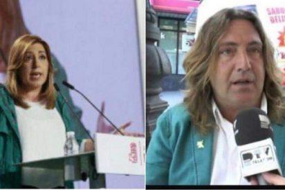 El parecido físico de Susana Díaz y Pepe el Marismeño arrasa en las redes