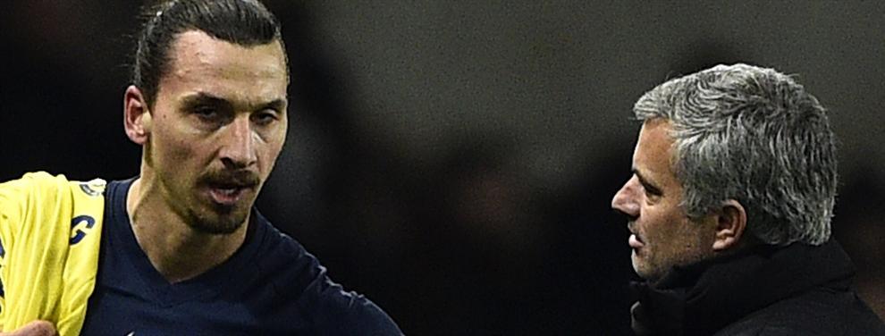 Top Secret: Mourinho va a tener 'problemas' con Ibrahimovic este verano