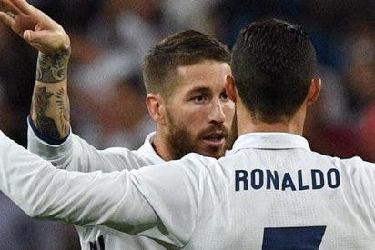 Toque de atención en el Real Madrid: la intensa charla entre Sergio Ramos y Cristiano