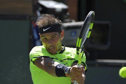Rafa Nadal supera a Verdasco y se cita con Federer en octavos de Indian Wells