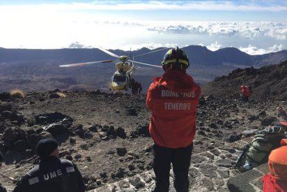 Concluye con éxito el rescate en el Teide