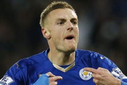 Vardy denuncia amenazas de muerte después de salida de Claudio Ranieri