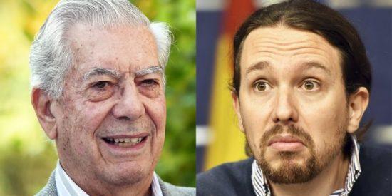 "Una pulgosa jauría podemita lee la cartilla a Vargas Llosa en Twitter: ¡""Canelo"", ""idiota""!"