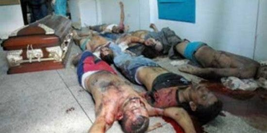 Los restos de 14 presos que han aparecido en una macabra cárcel venezolana