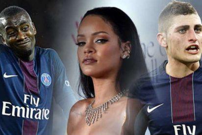 La clave sexual de la remontada del Barça: Rihanna pasó la noche de juerga con dos futbolistas del PSG
