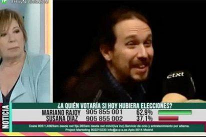 """Villalobos destripa a 'Pablenin': """"Se cepilló a sus trotskistas y ahora no va a pactar con el PSOE, quiere comérselo"""""""