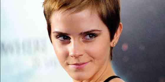 Emma Watson se desnuda en una revista... pero sólo de cintura para arriba