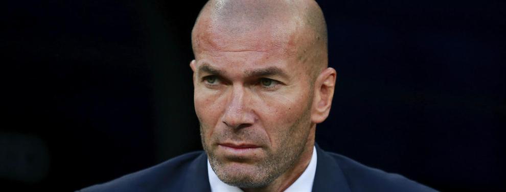 Zidane amenaza con dejar a un jugador del Real Madrid fuera del equipo por su mala actitud