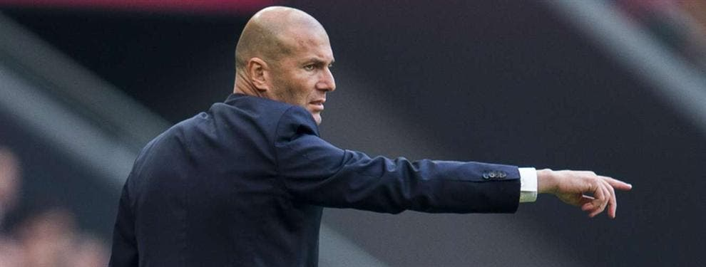 Zidane mete mano: Sus planes empujan a un crack fuera del Madrid
