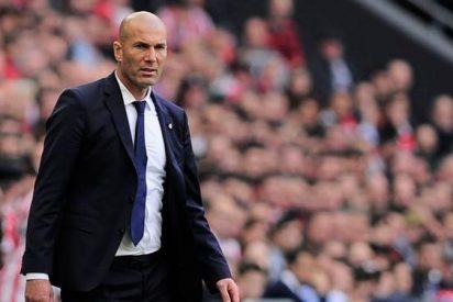 Zidane se carga un fichaje del Madrid al acabar el partido ante el Athletic