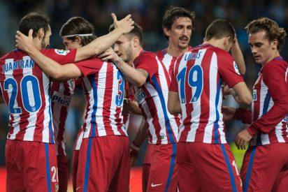 El equipo del Cholo nunca se rinde: Málaga 0 -Atlético de Madrid 2