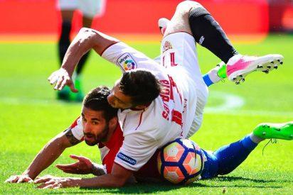 El Sevilla extiende su crisis ante el Sporting (0-0) y pierde el tercer puesto