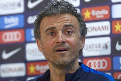 """Luis Enrique: """"Si dejo el Barça, mi casa, no es para entrenar en otro sitio"""""""