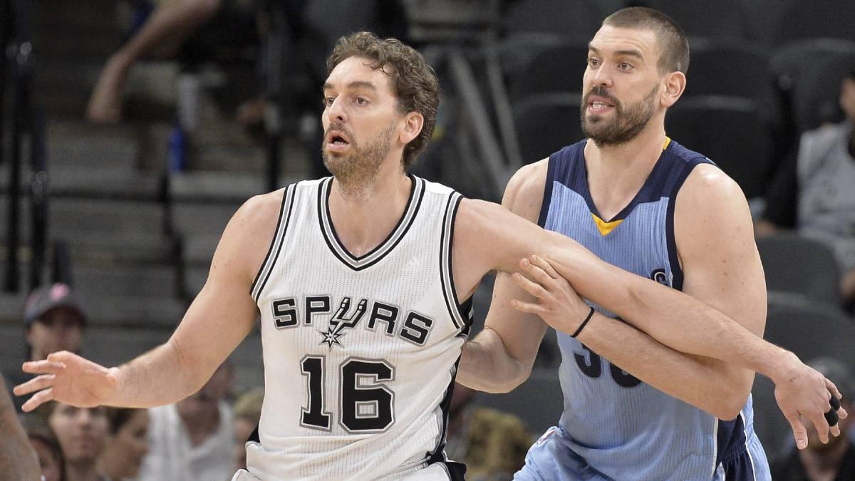 Marc Gasol se agiganta ante Pau y los Grizzlies recortan distancias con los Spurs