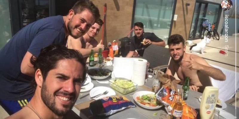 """Isco Alarcón: """"Que no me voy al Barça; nos los comemos con patatas"""""""
