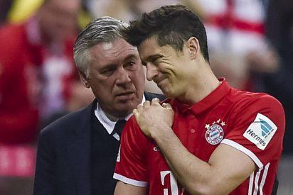 Lewandowski podría perderse el duelo ante el Real Madrid