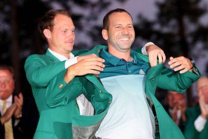 El golfista Sergio García se embolsó la friolera de 2 millones de dólares con su victoria en el Masters de Augusta