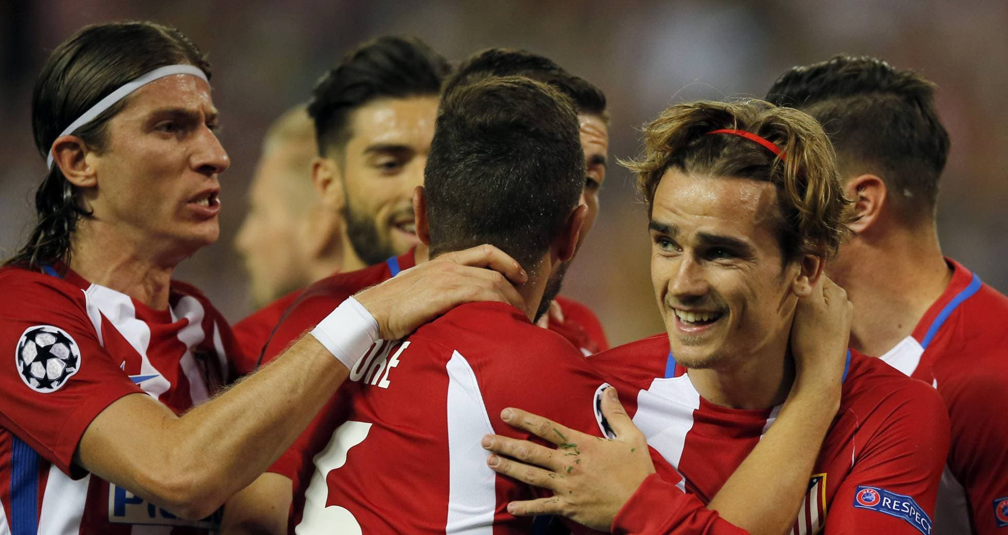 El Atlético de Madrid le casca 1-0 al Leicester y deja la puntilla para la vuelta