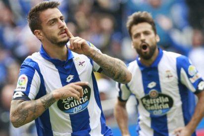 El Deportivo deja seco al Málaga (2-0) y se aleja del descenso
