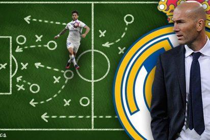 La reunión de última hora en el vestuario del Madrid (y el 'recadito' de Zidane a los pesos pesados)